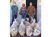 Alimentos arrecadados na Live Solidária de Leonardo de Luna são entregues para famílias carentes de Crato
