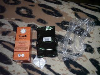 Henna khadi orzechowy brąz