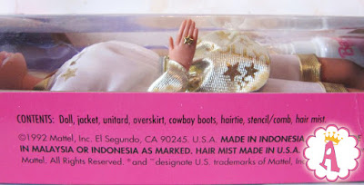 Barbie Hollywood Hair Indonesia doll, 1992