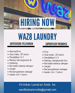 Supervisor di WAZ8 Laundry