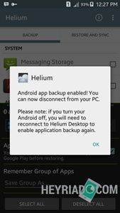 Aplikasi Backup Data Android