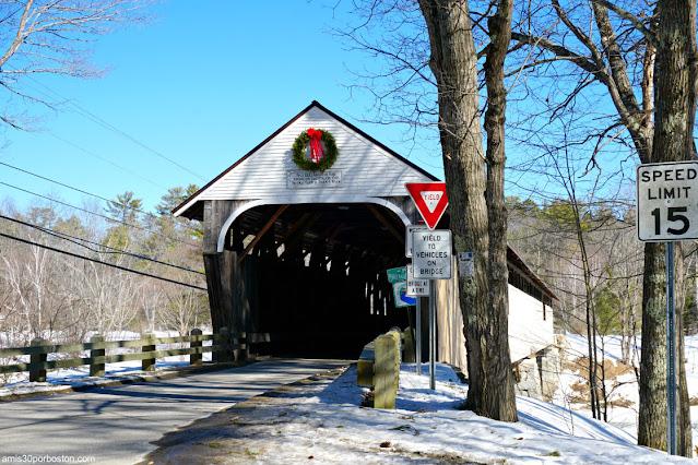 Blair Covered Bridge en Campton, New Hampshire