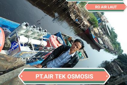 Paket Ro Air Laut / SW RO 10 ton per hari Lokasi Jambi