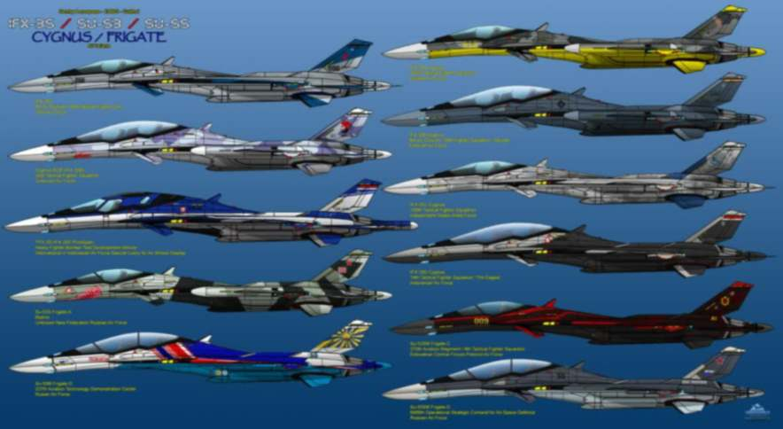 Gambar rencana desain pesawat tempur kfx-ifx Indonesia-korea-selatan