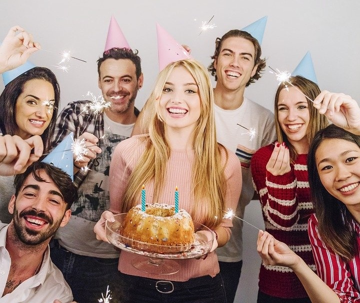 Aniversario, fiesta, blog