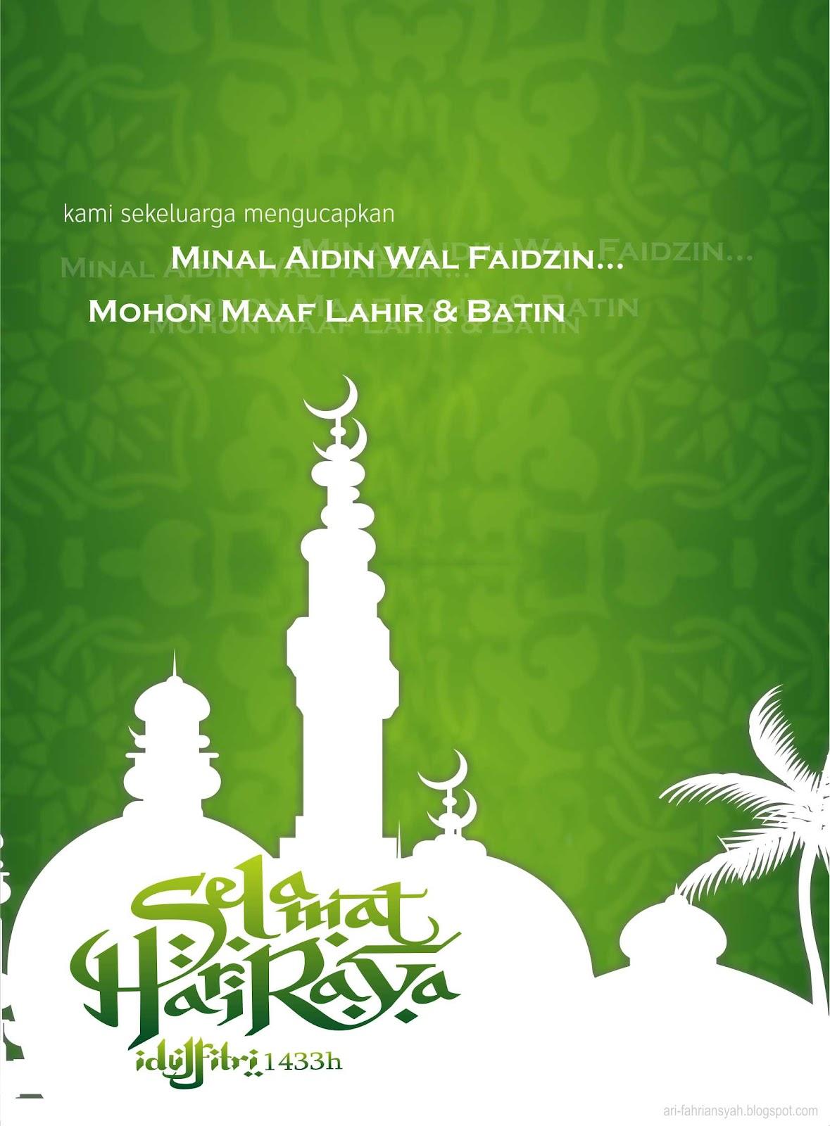 Selamat Hari Raya Idul Fitri Cdr : selamat, fitri, Download, Ucapan, Selamat, Fitri, Kartu, Terbaik
