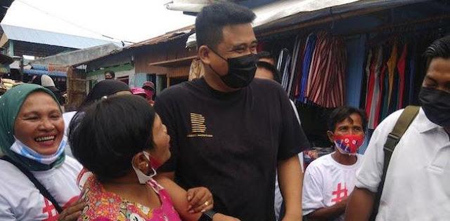 Catatan Bawaslu, Kubu Bobby Nasution Sudah 14 Kali Langgar Prokes