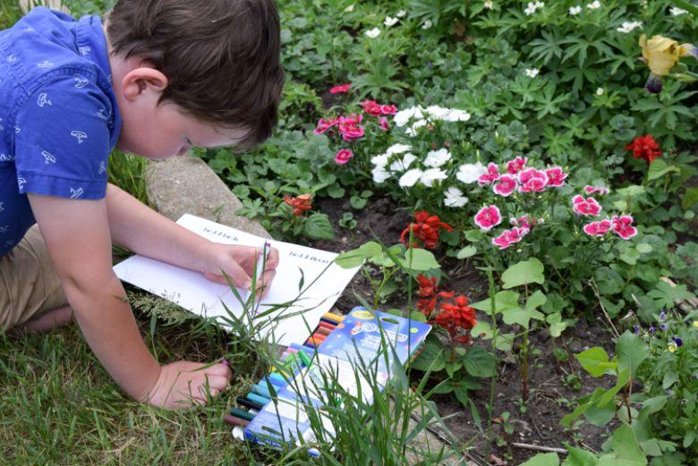 outdoor activities for kids - printable nature journal