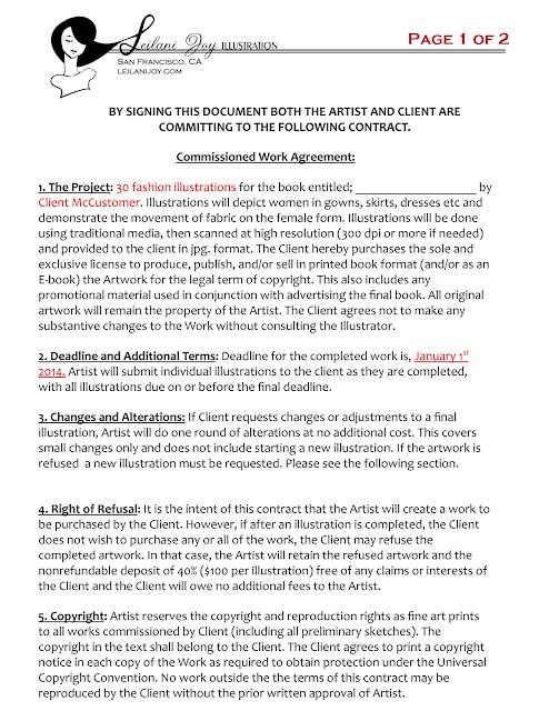 Art Nuvogue Commissions 101