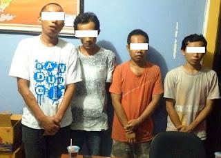 Pesta Narkoba : Warga Tanjung Teros Dan Kelayu Diciduk SatNarkoba Polres Lotim