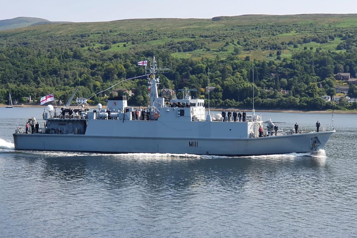HMS Blyth (M111)