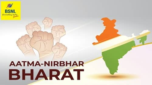 BSNL Aatma Nirbhar Bharat plan for 4G Network in India