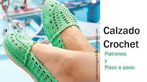 5 Modelos de Calzado para tejer al Crochet / Tutoriales
