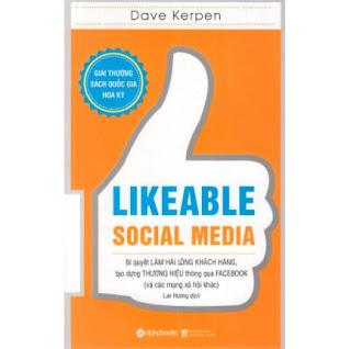 Cuốn Sách Đạt Giải Thưởng Sách Quốc Gia Hoa Kỳ: Likeable Social Media - Bí Quyết Làm Hài Lòng Khách Hàng, Tạo Dựng Thương Hiệu Thông Qua Facebook Và Các Mạng Xã Hội Khác ebook PDF-EPUB-AWZ3-PRC-MOBI