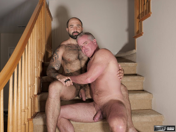 #Hairy and #Raw - Atlas Grant and Dale Savage