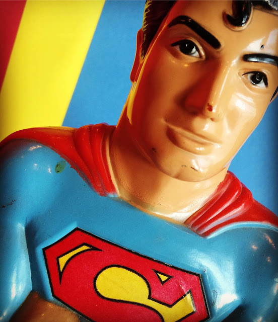 Mego Superman bank