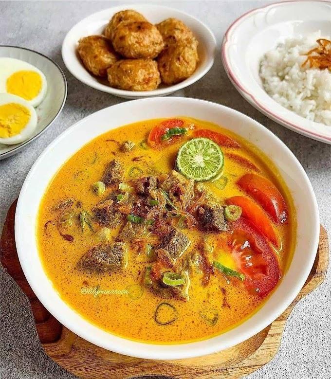 Resep Rumahan Buat Makan Pas Hujan Resep SOTO TANGKAR