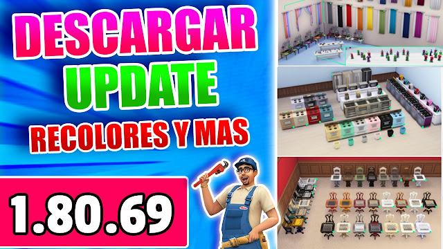 los sims 4 1.80.69 actualizacion en español mediafire