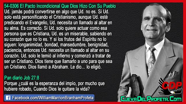Siendo un Cristiano por temor al infierno - William Branham en Español