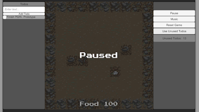 Dev Update #14 Reset Button Fixed(Again), Pausing Works, Window Scaling Fixed, Unused Todos Usable