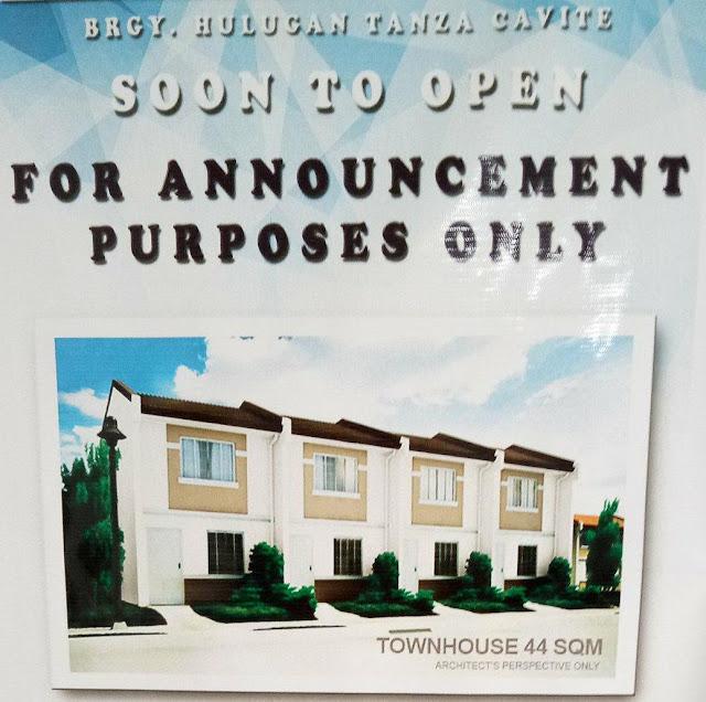 Tarragona Village Subdivision located at Brgy. Julugan, Tanza Cavite by Apec Homes thru Pag-ibig Financing.