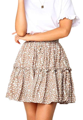 Ruffle Boho Skirt