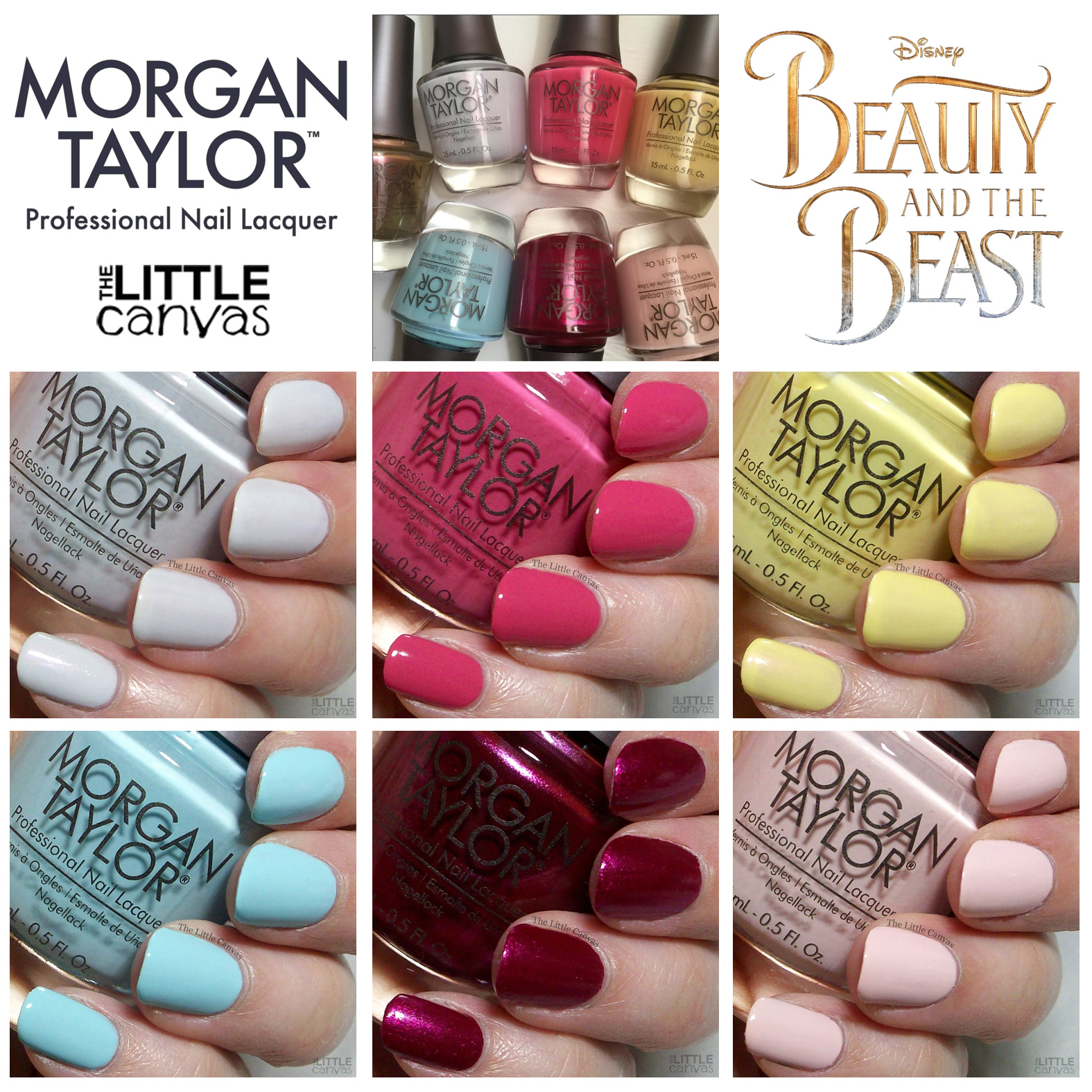 Enough Of My Babbling The Beauty And Beast Collection Consists 6 Polishes 1 Top Coat Let S Take A Look