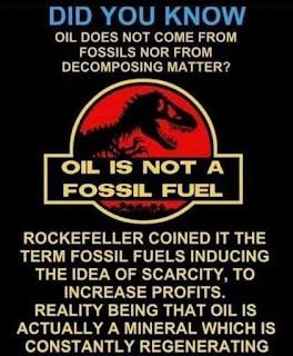 fossil fuel, peak oil, Abiotic Oil, atheists