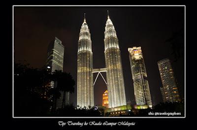 tips liburan ke kuala lumpur, malaysia, menara kembar petronas