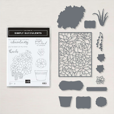 Simply Succulents Bundle from Stampin' Up!