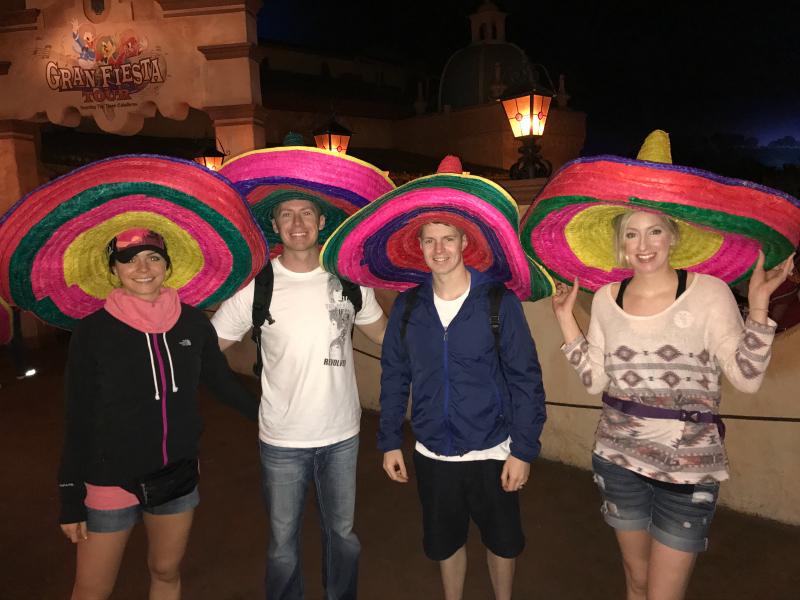 Disneyworld, Epcot, Epcot Mexico, Disneyworld at Christmas