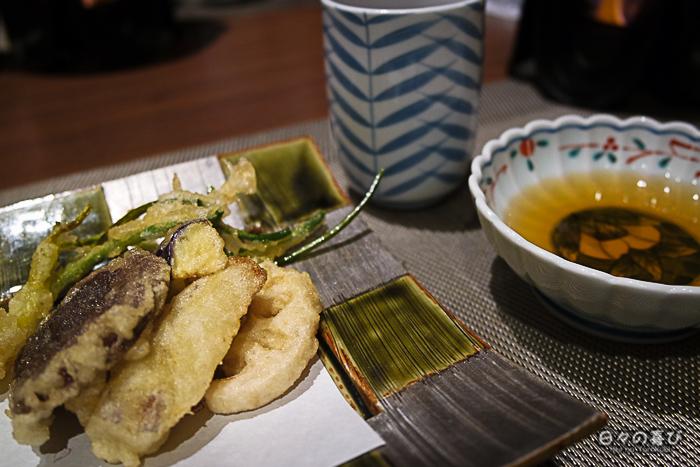 tenpura de légumes, Hakone Pax Yoshino