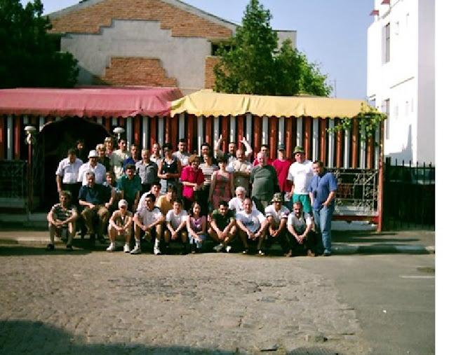 Turneul de ScrabbleOltenița, iunie 2003 -poza de grup