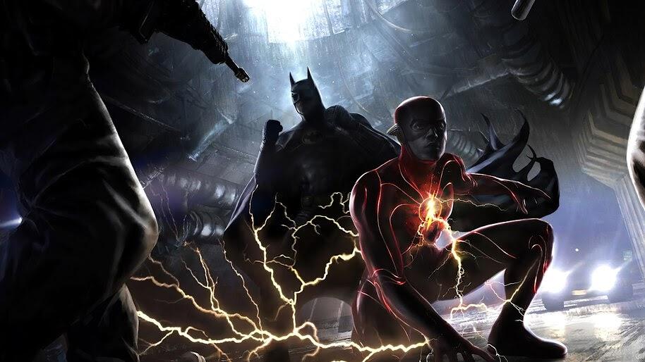 The Flash and Batman, 2022, Movie, 4K, #3.2550