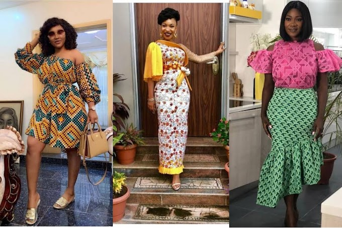 10 Nollywood Actresses Who've Rocked The Ankara Styles