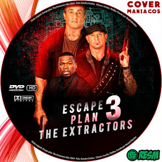 GALLETA - ESCAPE PLAN 3 - THE EXTRACTORS - 2019 [COVER DVD]