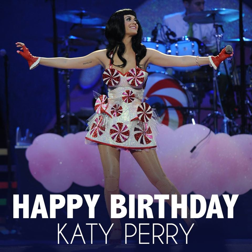 Katy Perry's Birthday Wishes Beautiful Image