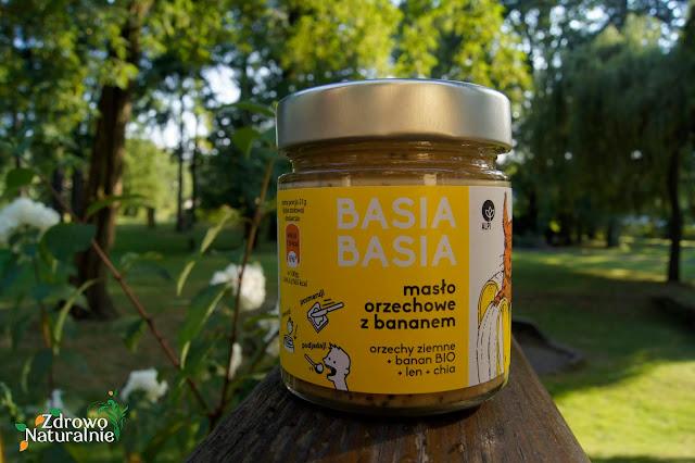 ALPI BASIA BASIA - Masło orzechowe z bananem + chia