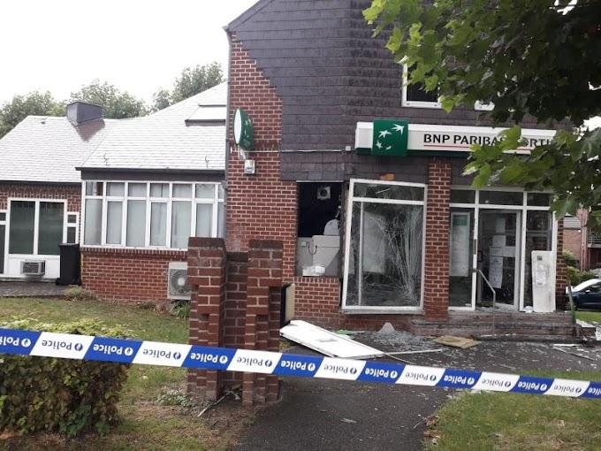 Attaque à l'explosif dans une banque à Remicourt: les auteurs sont toujours recherchés