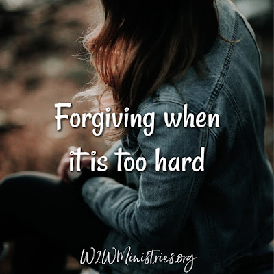 Forgiving when it is too hard. #forgive #forgiven #forgiveness