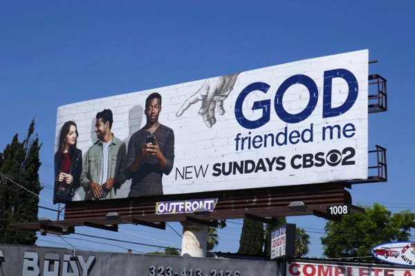 God Friended Me CBS billboard