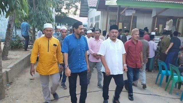 Mualem Takziah ke Rumah Almarhum Ulama Kharismatik Aceh Abu Kruet Lintang