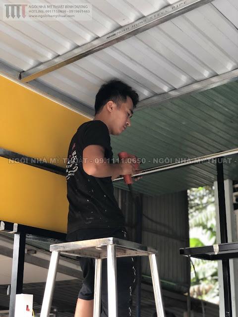 Cung cấp quầy bán hàng siêu rẻ đẹp tại Bình Dương, Đồng Nai, Tp.HCM
