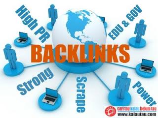 kalautau.com - Cara Praktis Memanfaatkan Backlink