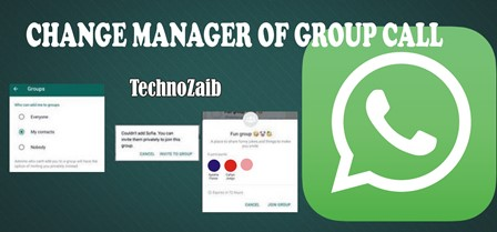 If you have established a WhatsApp group, you may want to transfer your manager stick to someone else in the group