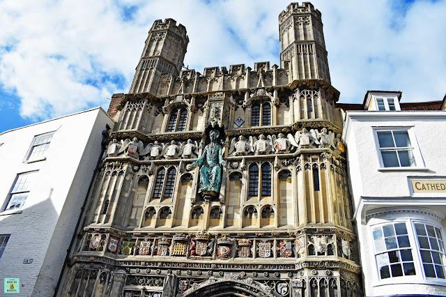 Porticón de Canterbury, Reino Unido