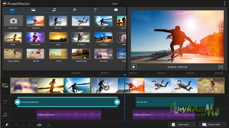 PowerDirector Video Editor 5.4.4 Apk Mod