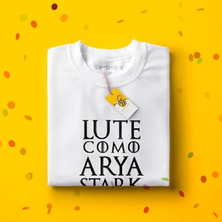 Camiseta para carnaval - Game Of Thrones - Lute como Arya Stark