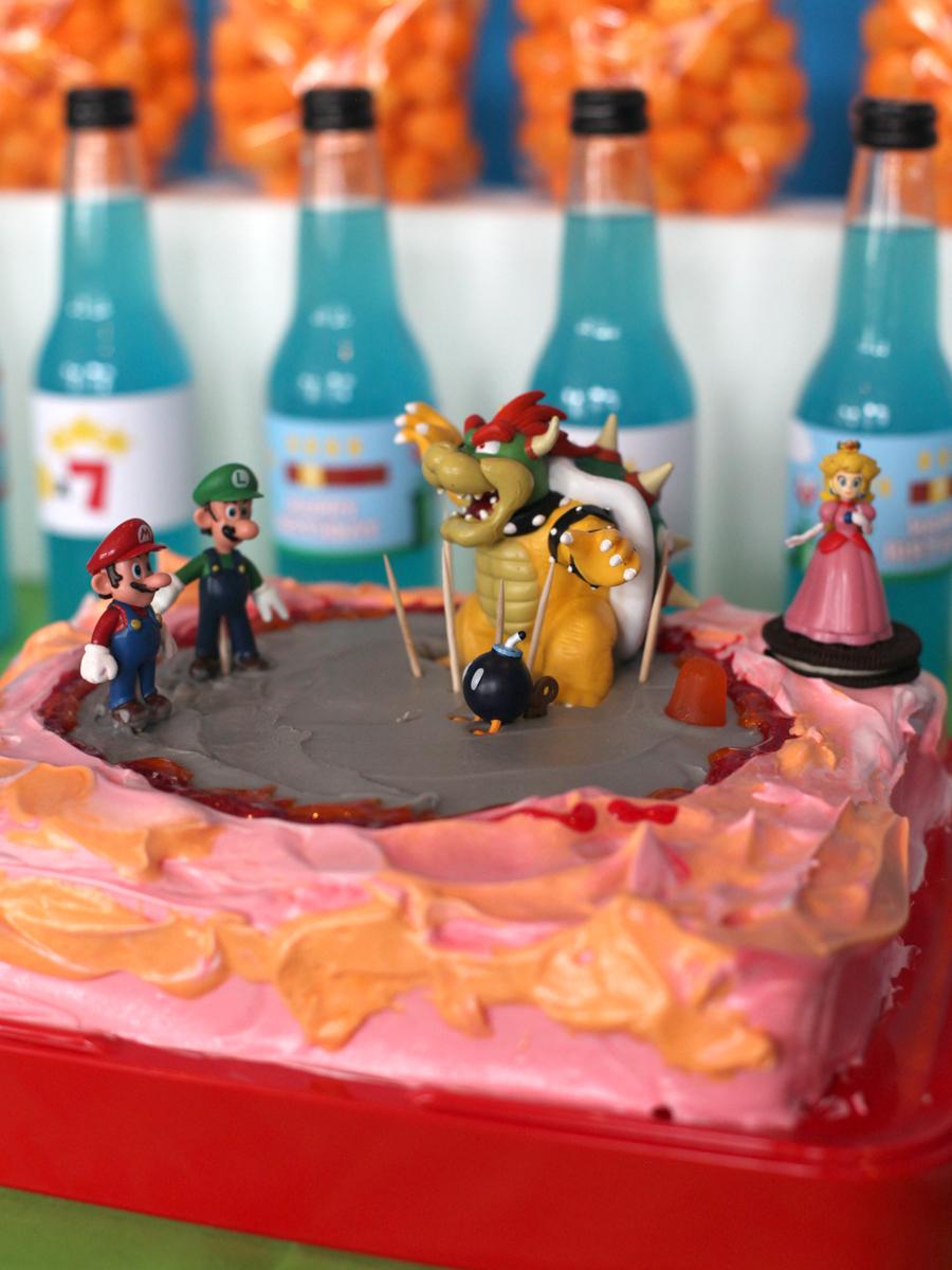 Super Mario Bros Birthday Party