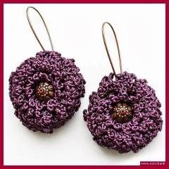 Flor de ganchillo a crochet